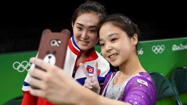 Корейские спортсменки