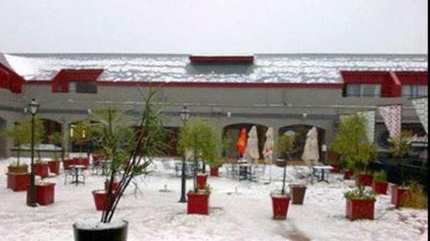 Снегопад в Африке