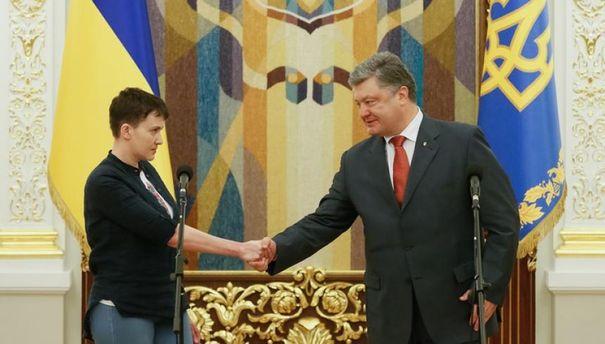 Догадывался ли Порошенко о намерениях Савченко?