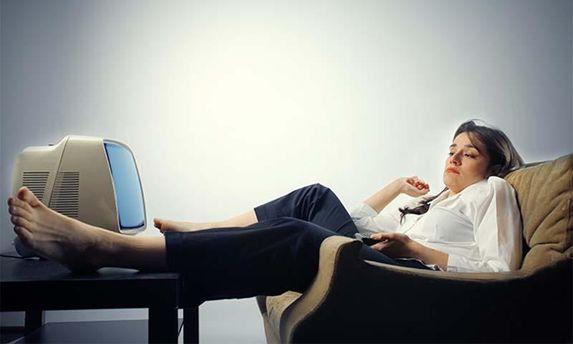 Ленивая женщина
