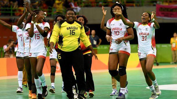 Тереза – украшение сборной Анголы