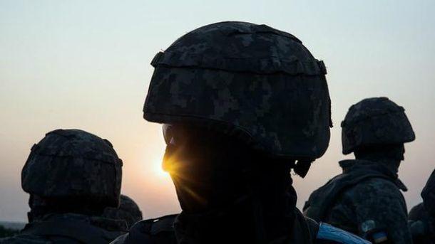 Украинские воины героически дают отпор боевикам