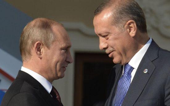 Авторитаризм зблиизив Ердогана і Путіна