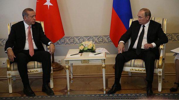 Туреччина занадто почала зближуватися з Росією