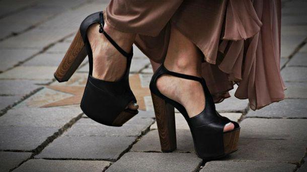 Высокие каблуки полезные