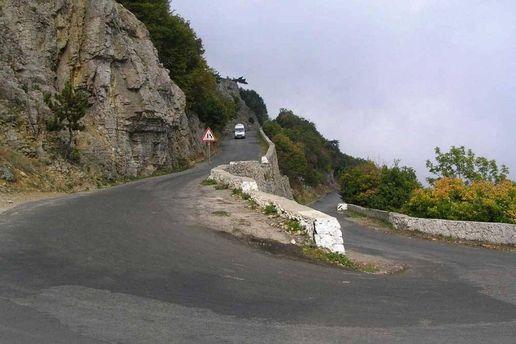 Дорога в Крыму