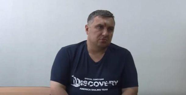 Євген Панов під час допиту
