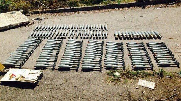 Такими минами обстреливают украинских бойцов