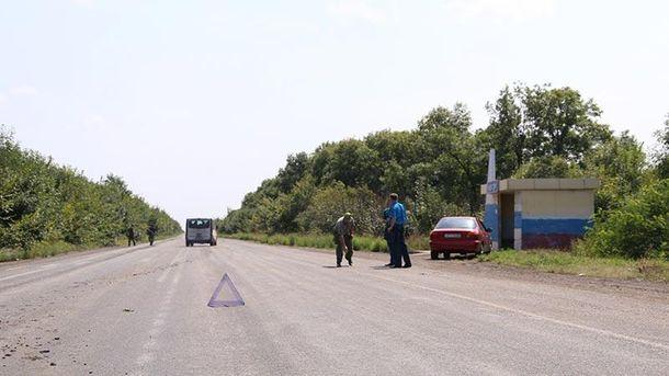 ВДТП попал автобус спассажирами, которые ехали из столицы вГорловку