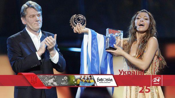 2005 – рік, коли Європа завітала до України на Євробачення