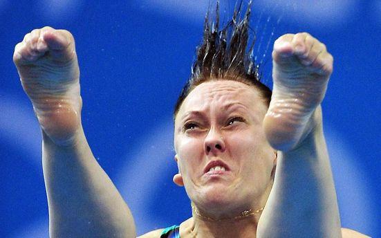 Российская спортсменка Надежда Бажина