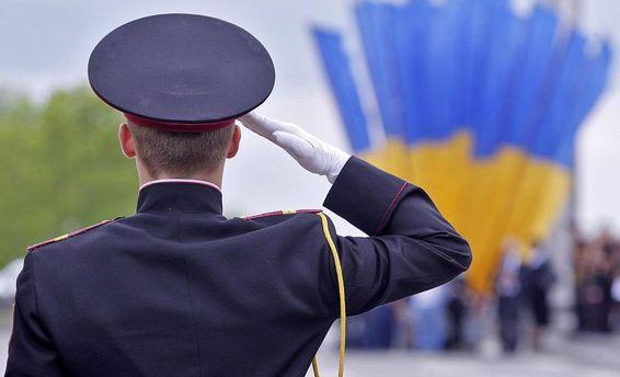 Військовий у Києві
