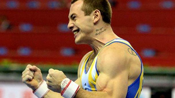 Украинский гимнаст Игорь Радивилов