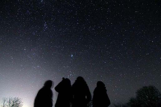 Созерцание звездопада (иллюстрация)