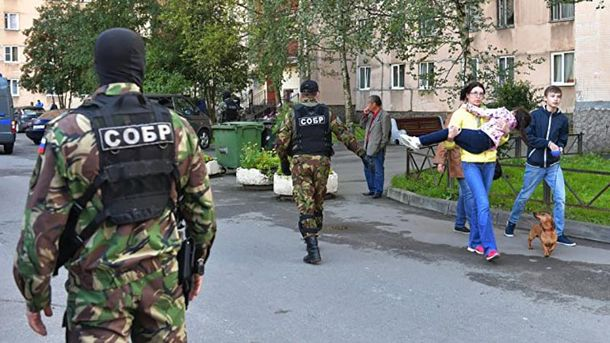 Спецоперация в Петербурге