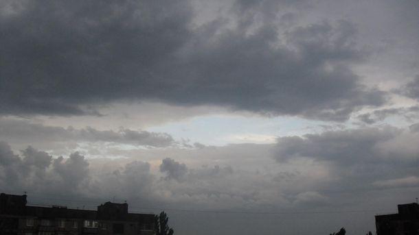 Небо над Кривым Рогом