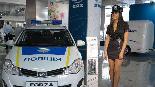 Авто для полиция ZAZ представили еще в мае