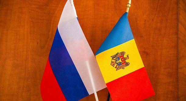 Прапори Росії та Молдови