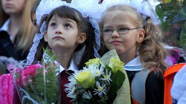 Вже невдовзі першокласниками стануть 394 тисячі дітей