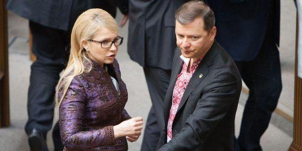 Юлія Тимошенко і Олег Ляшко безуспішно розігруватимуть тарифну карту?