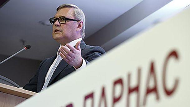 Лідер ПАРНАСу Михайло Касьянов
