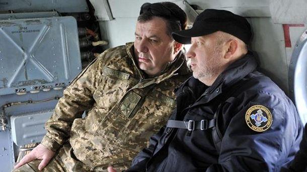 Степан Полторак та Олександр Турчинов