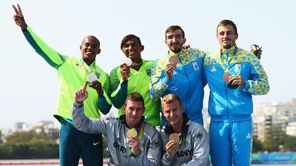 Тарас Мищук и Дмитрий Янчук завоювали бронзовую медаль