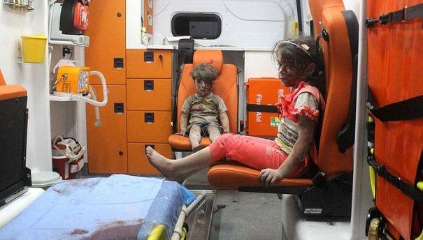 Детей эвакуируют из Алеппо