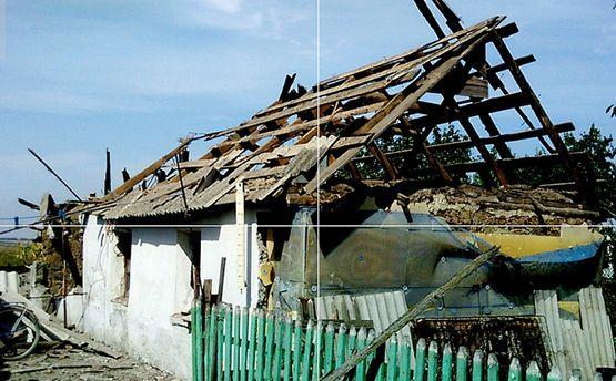 Уничтожен дом в селе Сладком