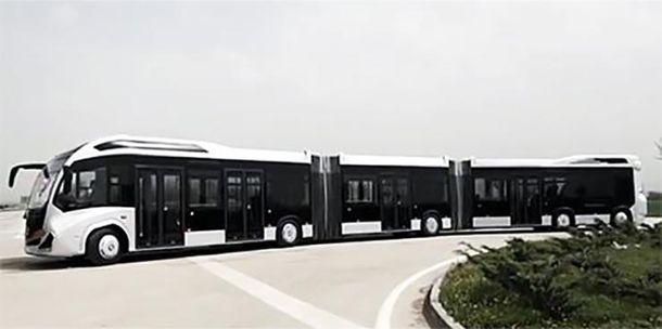 Найбільший у світі автобус
