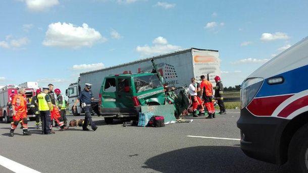 Страшні фото з місця аварії