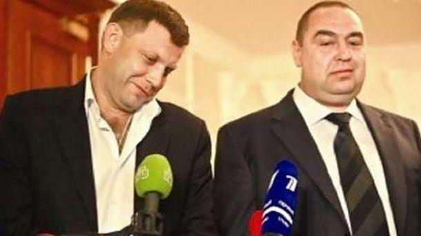 Олександр Захарченко та Ігор Плотницкий