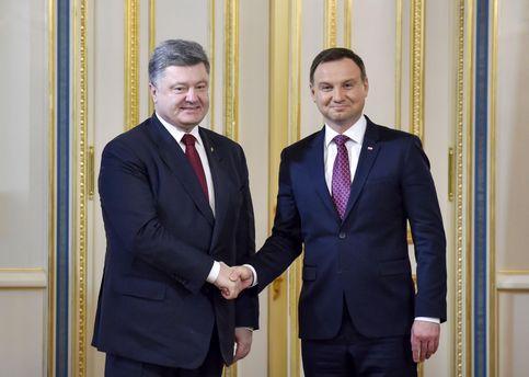 Петро Порошенко та Анджей Дуда
