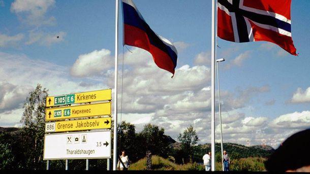 Кордон між Норвегією та Росією