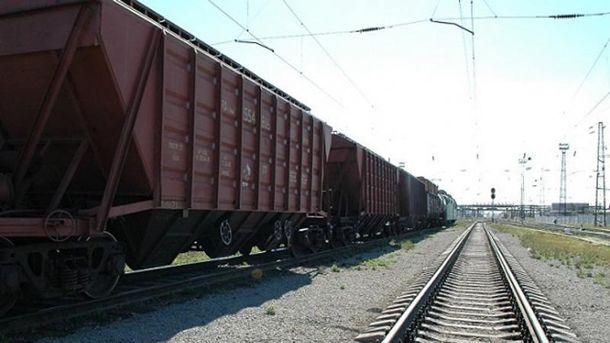 Грузовые вагоны (иллюстрация)