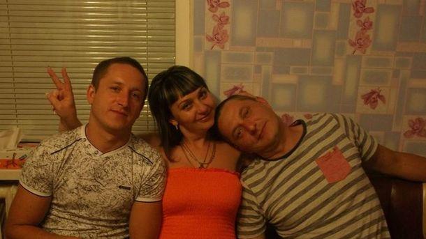 Олександр Цукерман (праворуч) у товаристві сім'ї