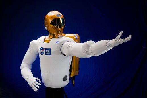 Роботы NASA