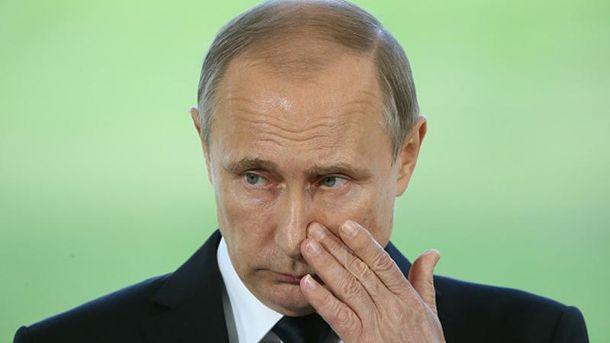 Бедный Путин
