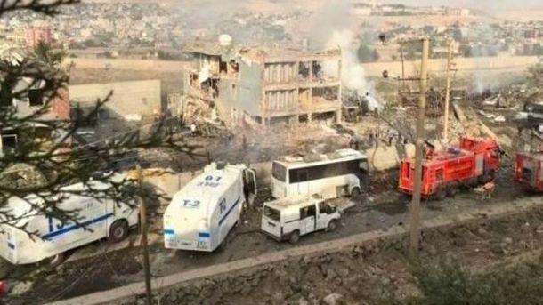 Взрыв в Турции