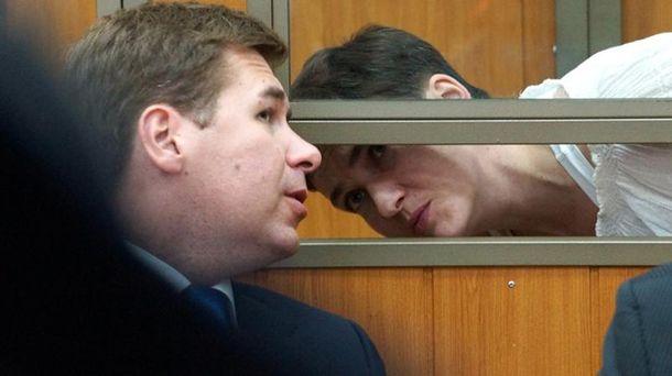 Илья Новиков и Надежда Савченко