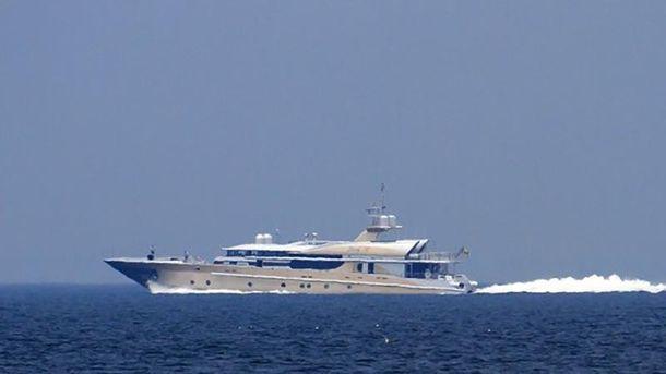 Яхта Березовського