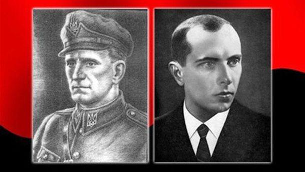 Степан Бандера та Роман  Шухевич