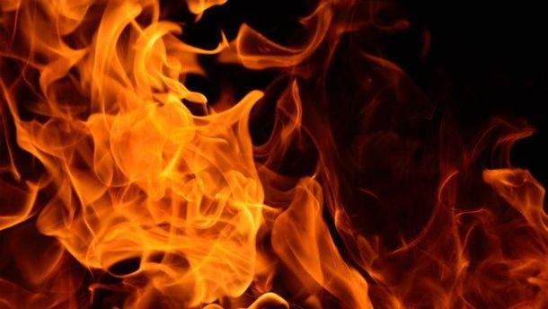 Жінка згоріла заживо