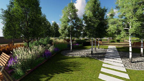 В Голосеевском районе уже обустраивается новый парк