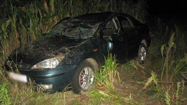 П'яний водій збив трьох дітей