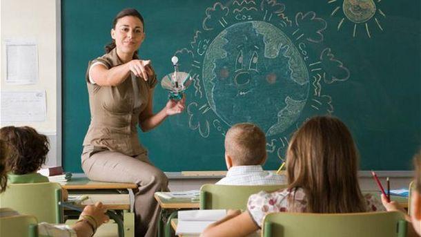 Вчитель у школі