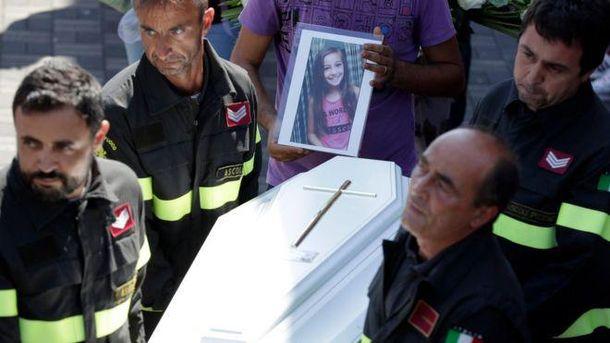 Похороны маленькой Джулии