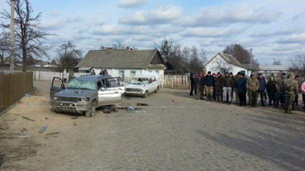 Непрохані гості приїхали з іншого села на автівці (ілюстрація)