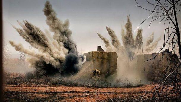 У зоні бойових дій на Донбасі