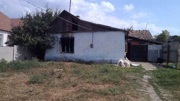 Будинок ромів у Лощинівці після погрому